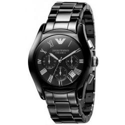 Reloj Emporio Armani Hombre Ceramica AR1400 Cronógrafo