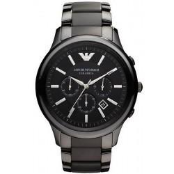 Reloj Emporio Armani Hombre Ceramica AR1452 Cronógrafo