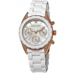 Reloj Emporio Armani Mujer Sportivo AR5943 Cronógrafo