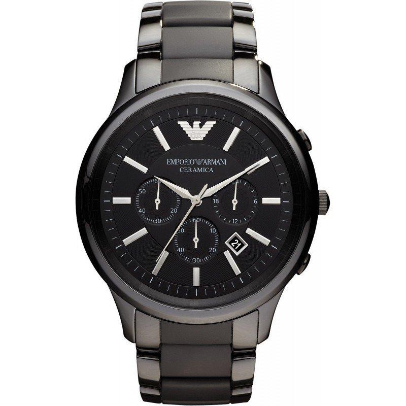 23d0f5cc63c4 Reloj Emporio Armani Hombre Ceramica AR1451 Cronógrafo - Joyería de Moda