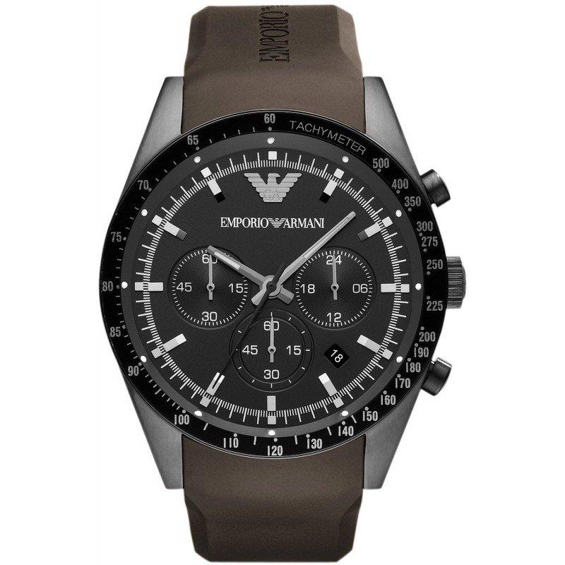 d47e4ddfb376 Reloj Emporio Armani Hombre Tazio AR5986 Cronógrafo - Joyería de Moda