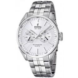 Reloj Hombre Festina Elegance F16630/1 Multifunción Quartz