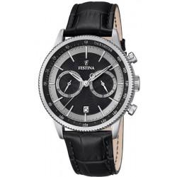 Reloj Festina Hombre Retro F16893/8 Cronógrafo Quartz