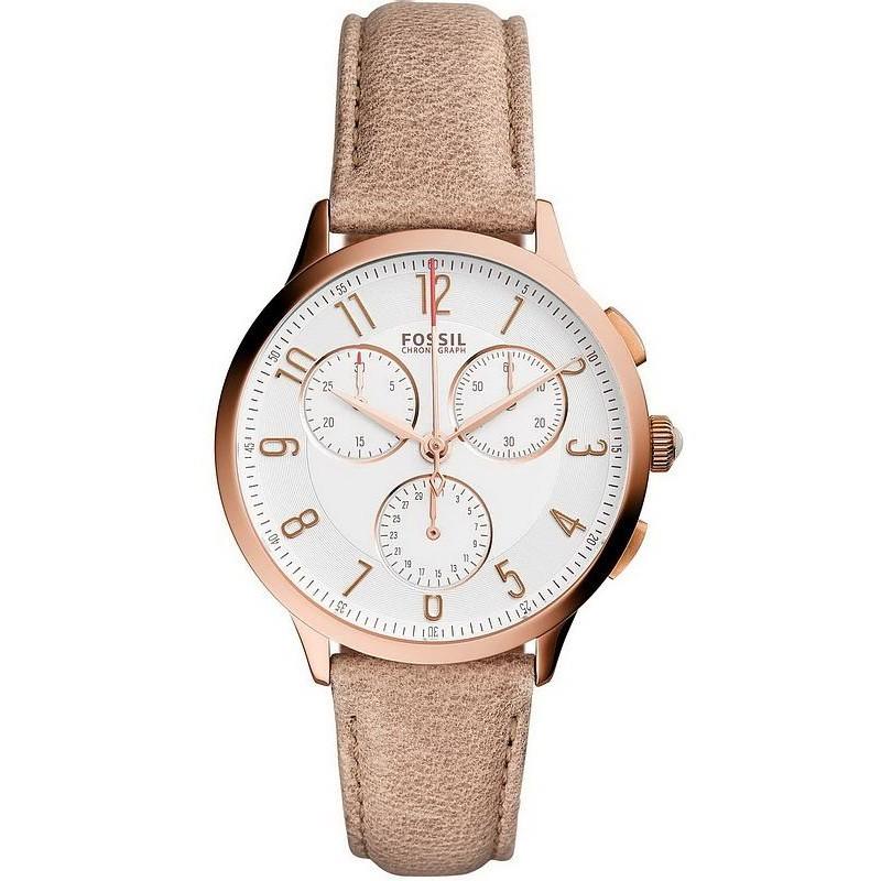 Reloj Para Mujer Fossil Abilene Ch3016 Cron 243 Grafo Quartz