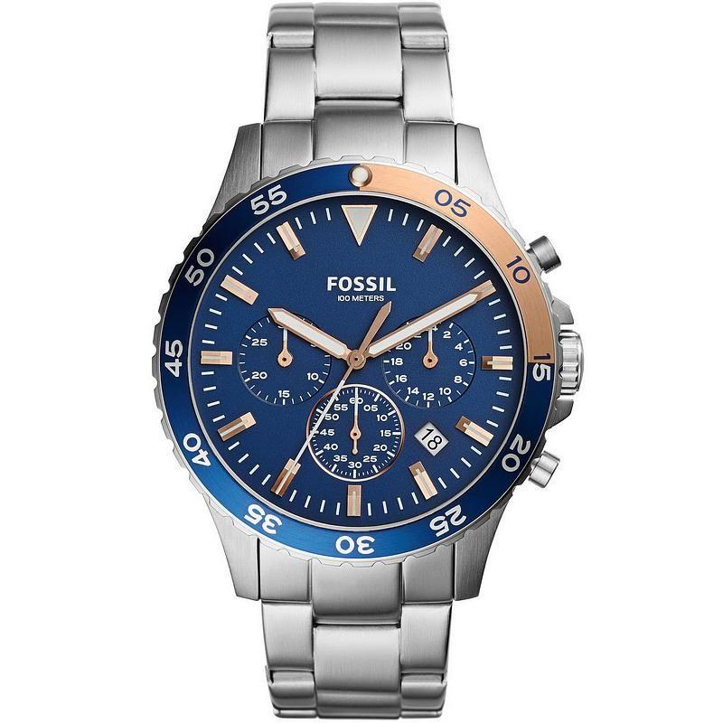 0f88106b0326 Reloj para Hombre Fossil Crewmaster CH3059 Cronógrafo Quartz ...