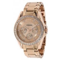 Reloj para Mujer Fossil Riley Multifunción Quartz ES2811