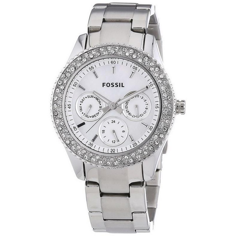 ddbb91efe1e6 Reloj para Mujer Fossil Stella ES2860 Multifunción Quartz - Joyería ...