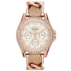 Reloj para Mujer Fossil Riley ES3466 Multifunción Quartz