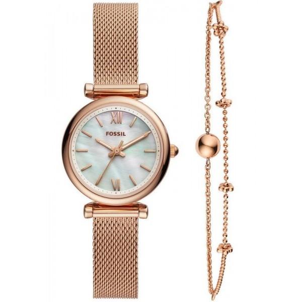 Comprar Reloj para Mujer Fossil Carlie Mini ES4443SET Quartz