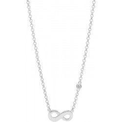 Collar Fossil Mujer Sterling Silver JFS00394040