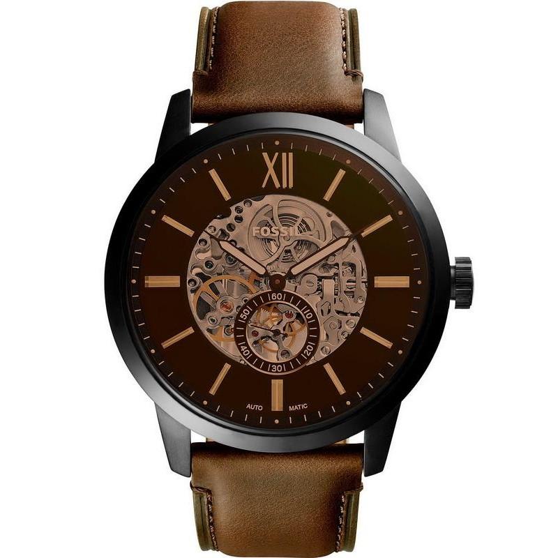 Reloj para Hombre Fossil 48MM Townsman ME3155 Automático - Joyería ... 6e2cfdf8636f