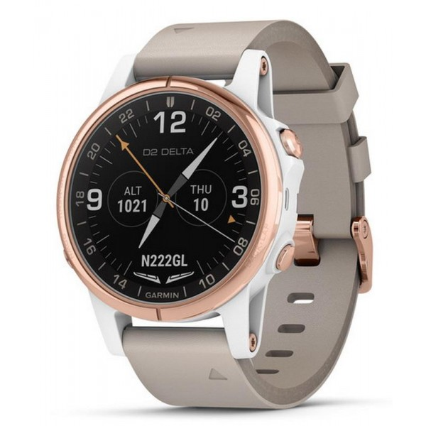 Comprar Reloj Garmin Hombre D2 Delta S Sapphire Aviator 010-01987-31