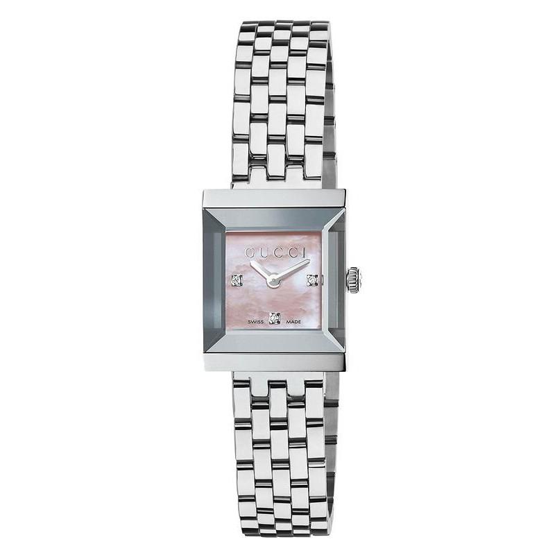 7d1eca4a297 Reloj Gucci Mujer G-Frame Square Medium YA128401 Quartz - Joyería de ...