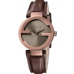 Reloj Gucci Mujer Interlocking Small YA133504 Quartz