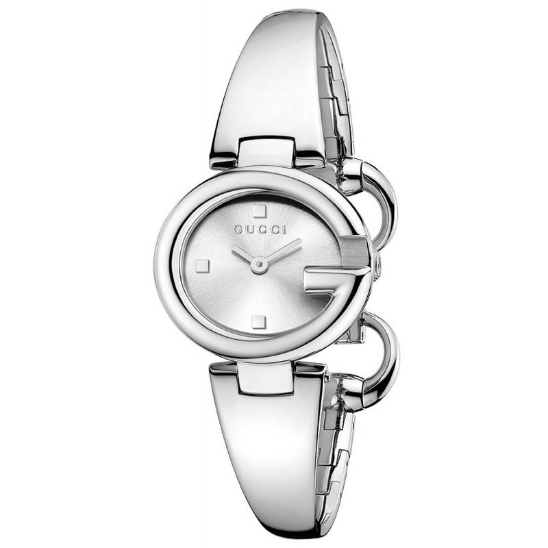 9b63061f7 Reloj Gucci Mujer Guccissima Small YA134502 Quartz - Joyería de Moda