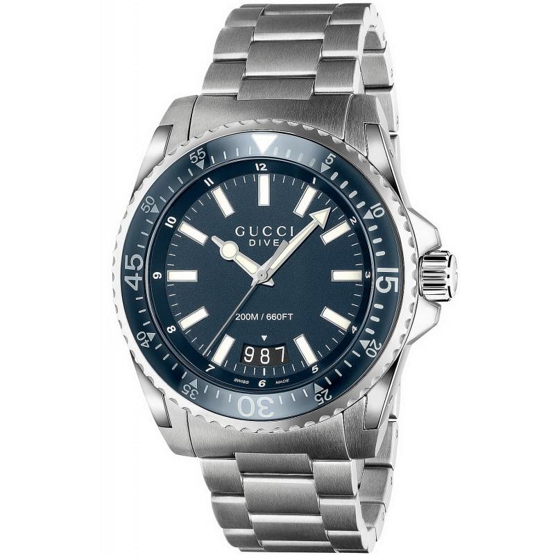 5d2cca05dd40 ... G CHRONO - YA101202 - HOMBRE - PIEL  quot PRECIO DE RESERVA Reloj Gucci  Hombre YA136203 Dive XL Quartz - Joyería de Moda