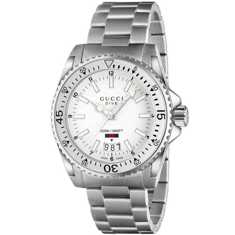 1a1f8999659 Reloj Gucci Hombre Dive Large YA136302 Quartz - Joyería de Moda