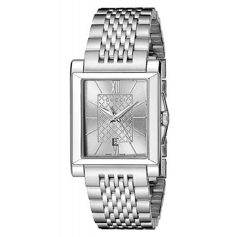 45add110e32 Reloj Gucci Mujer G-Timeless Rectangular Small YA138501 Quartz ...