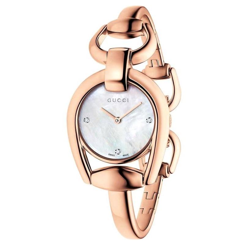 3f995917a Reloj Gucci Mujer Horsebit Small YA139508 Quartz - Joyería de Moda