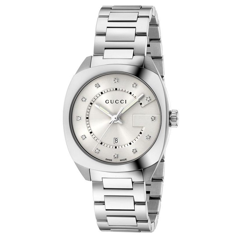 7ef8e0d85 Reloj Gucci Mujer GG2570 Medium YA142403 Quartz - Joyería de Moda