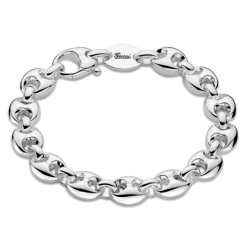 6d2e1c4ff Pulsera Gucci Mujer Marina Chain YBA325830001016 - Joyería de Moda