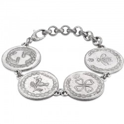Comprar Pulsera Gucci Mujer Coin YBA432179001018
