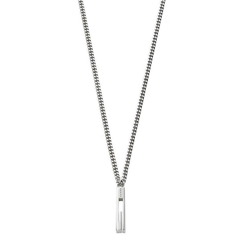 df837878f Collar Gucci Hombre Silver YBB22505500100U - Joyería de Moda