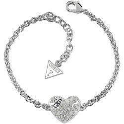 Comprar Pulsera Guess Mujer Glossy Hearts UBB51492