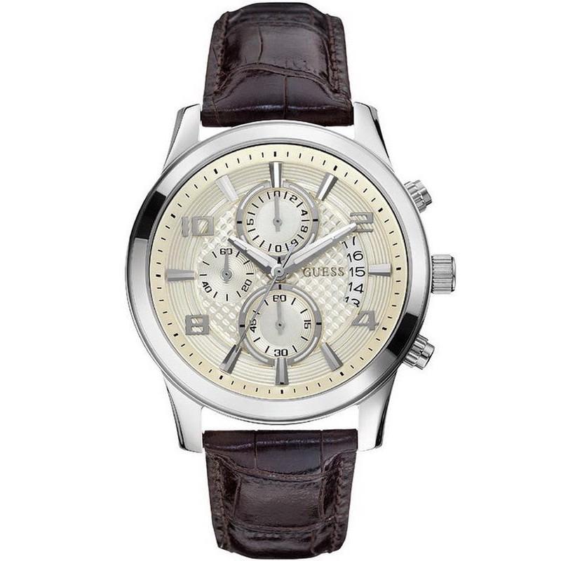 Reloj Cronógrafo W0076g2 Hombre Guess Exec 0XN8nkwOP