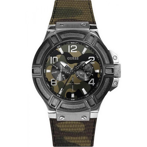 Comprar Reloj Hombre Guess Rigor Multifunción Camuflaje W0407G1
