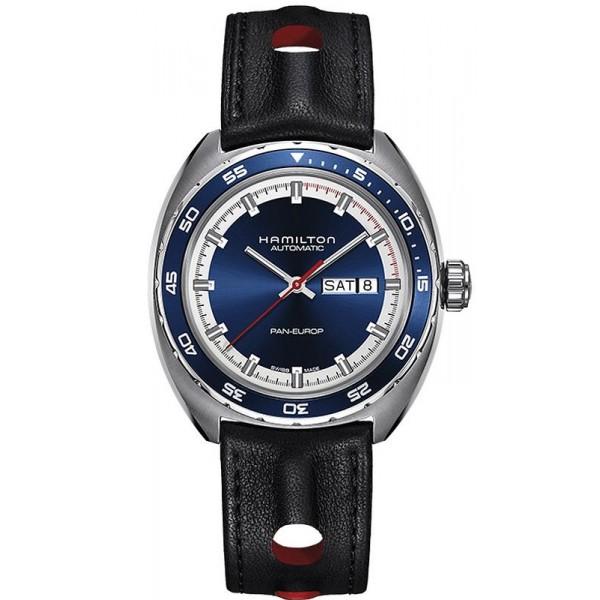 Comprar Reloj Hamilton Hombre Pan Europ Day Date Auto H35405741