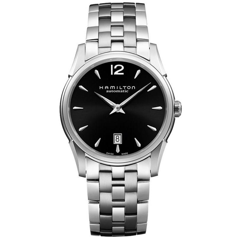 12f5ac6c57d7 Reloj Hamilton Hombre Jazzmaster Slim Auto H38515135 - Joyería de Moda