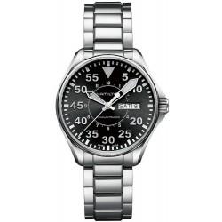 Reloj Hamilton Hombre Khaki Aviation Pilot Day Date Auto H64425135