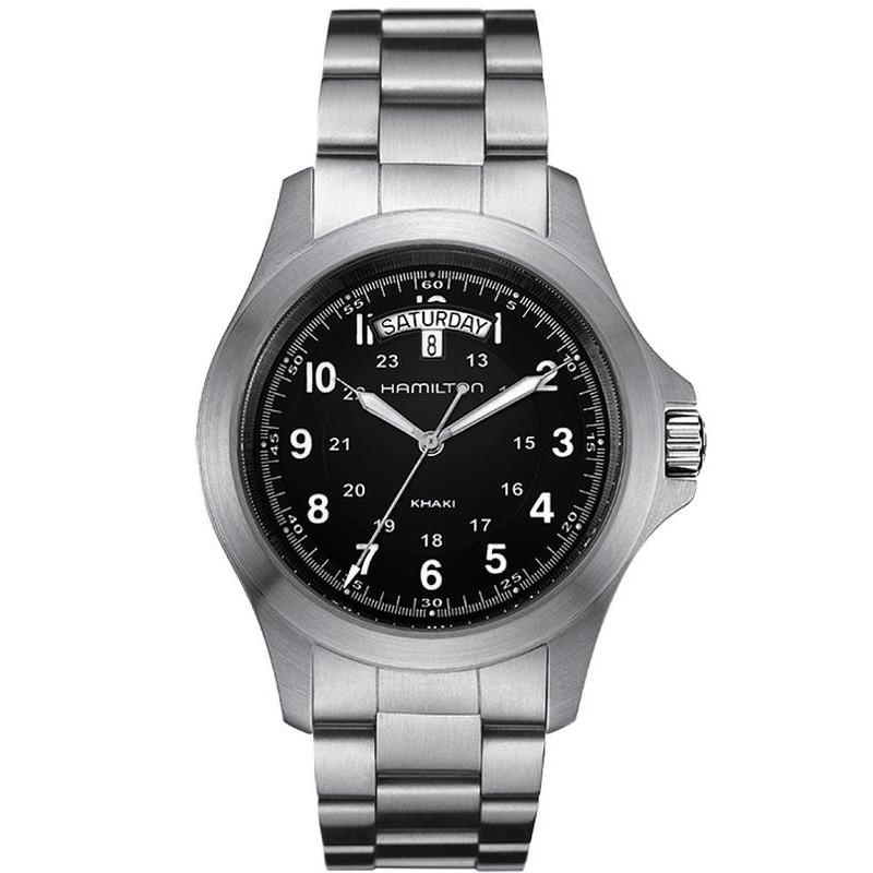 H64451133 Hombre Field Khaki Hamilton Quartz Reloj King zqMSpVUG