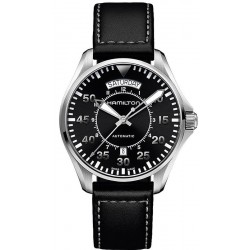 Reloj Hamilton Hombre Khaki Aviation Pilot Day Date Auto H64615735