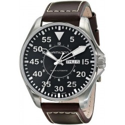 Reloj Hamilton Hombre Khaki Aviation Pilot Day Date Auto H64715535