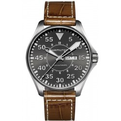 Reloj Hamilton Hombre Khaki Aviation Pilot Day Date Auto H64715885