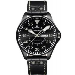 Reloj Hamilton Hombre Khaki Aviation Pilot Day Date Auto H64785835