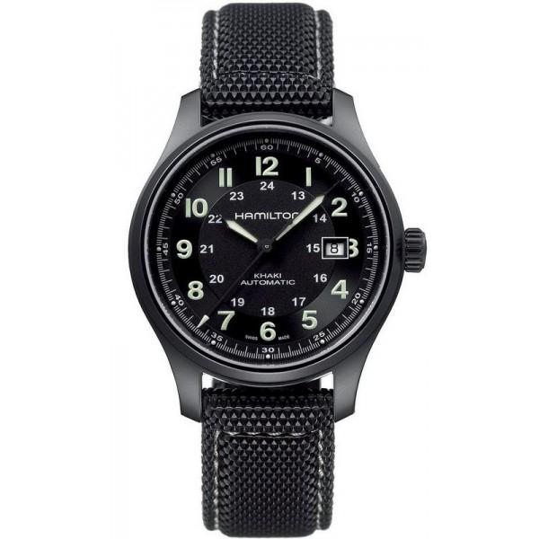 Comprar Reloj Hamilton Hombre Khaki Field Titanium Auto H70575733