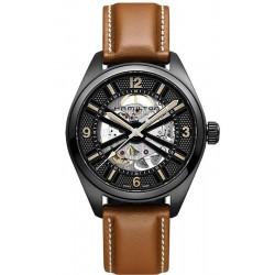 Reloj Hamilton Hombre Khaki Field Skeleton Auto H72585535