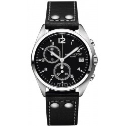 Reloj Hamilton Hombre Khaki Aviation Pilot Pioneer Chrono Quartz H76512733