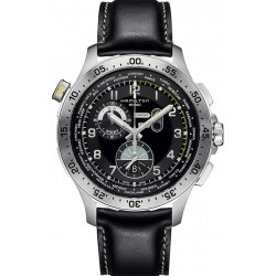 Reloj Hamilton Hombre Khaki Aviation Worldtimer Chrono Quartz H76714735