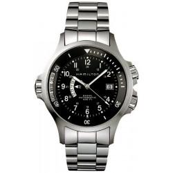 Reloj Hamilton Hombre Khaki Navy GMT Auto H77615133