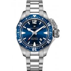 Reloj Hamilton Hombre Khaki Navy Frogman Auto H77705145