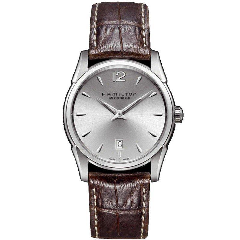 51c0c774a706 Reloj Hamilton Hombre Jazzmaster Slim Auto H38515555 - Joyería de Moda