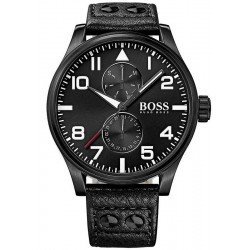 Reloj Hugo Boss Hombre Aeroliner Multifunción Quartz 1513083