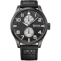 Reloj Hugo Boss Hombre Aeroliner Multifunción Quartz 1513086