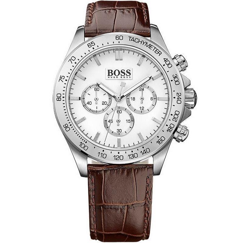 ee564be7cb90 Reloj Hugo Boss Hombre Ikon Cronógrafo Quartz 1513175 - Joyería de Moda