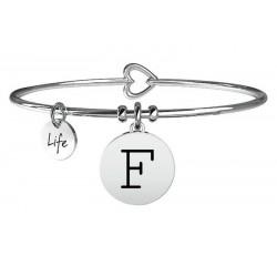 Pulsera Kidult Mujer Symbols Letra F 231555F