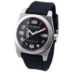 Reloj Locman Hombre Stealth Dual Time Quartz 020000CBFRD1GOK